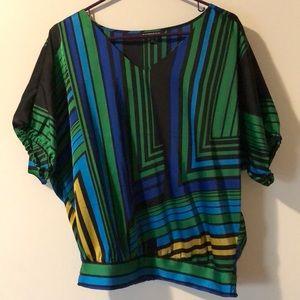 Express Tops - Express Silk Shirt